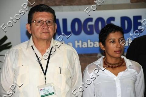 Pablo Catatumbo y Camila Cienfuegos. Crédito: Prensa Latina FotosPL/Vladimir Molina