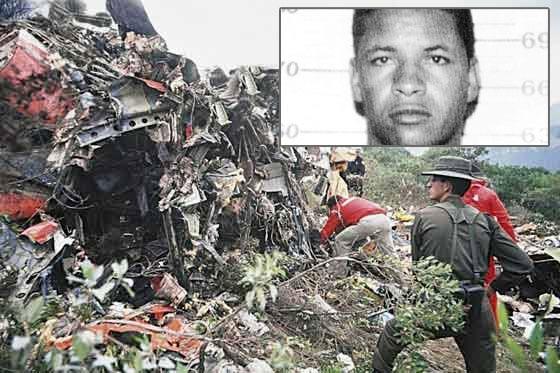 'La Kika' paga una condena de 160 años por la bomba del avión de Avianca, y no fue él