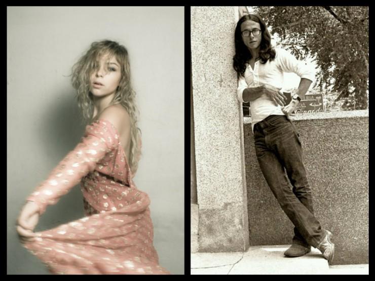Andrés Caicedo y Paulina Dávila, que interpretará a María del Carmen en la versión cinematográfica.