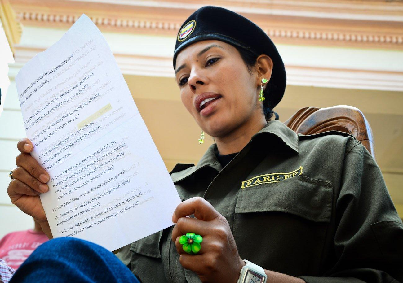 """""""si me toca morir por esta causa lo voy a hacer"""": habla Camila, la mujer de Catatumbo"""