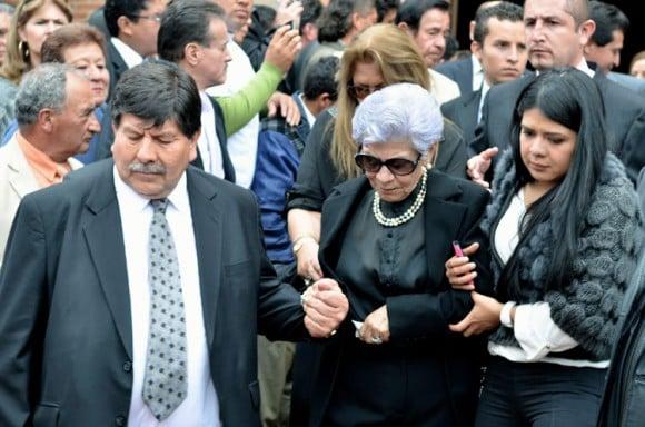Víctor Carranza y Blanca Carranza, a pesar de ser primos hermanos, se casaron en 1965 tuvieron cinco hijos. Sin embargo, en el sepelio del zar estuvo una de sus seis hijas por fuera del matrimonio.
