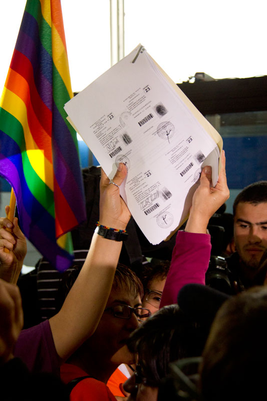 Demanda por matrimonio igualitario de Elizabeth Castillo y Claudia Zea.