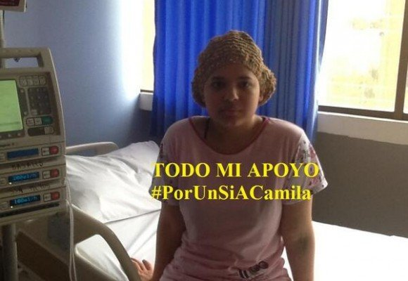 Esta es la historia de Camila #PorUnSiACamila