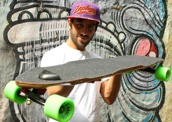 Patinetas Longboards made in Cali
