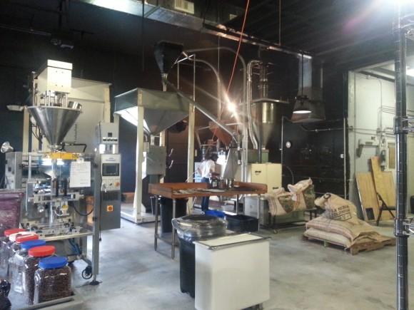Ésta es la fábrica en la que se procesará el café colombiano en Florida, Estados Unidos