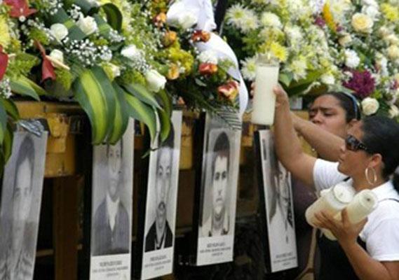 Clara Paradaju insiste en que en Tibú se instale el Museo de la Memoria, para  que nadie olvide que allí en El Catatumbo los paramilitares  cometieron 60 masacres y mataron 11.500 personas. FOTO: Caracol