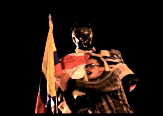 El mejor video de la protesta: Un pueblo sin piernas pero que camina