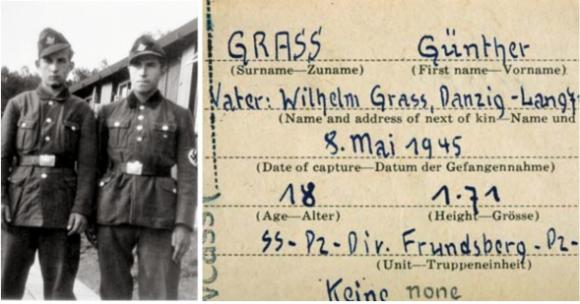 Por su inmadurez cuando hizo parte de la S.S., Grass ha sido defendido por intelectuales como  Mario Vargas Llosa , Volker Schlöndorff y Salman Rushdie.