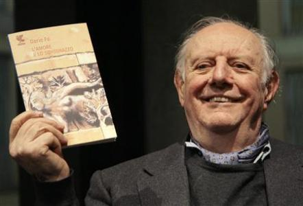 El gran espectáculo de Dario Fo, Nobel de Literatura