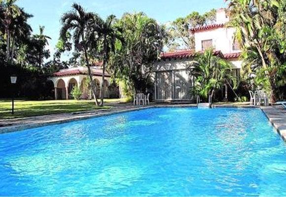Casa de protocolo donde se alojó Nicolás Maduro en sus visitas a Cuba.