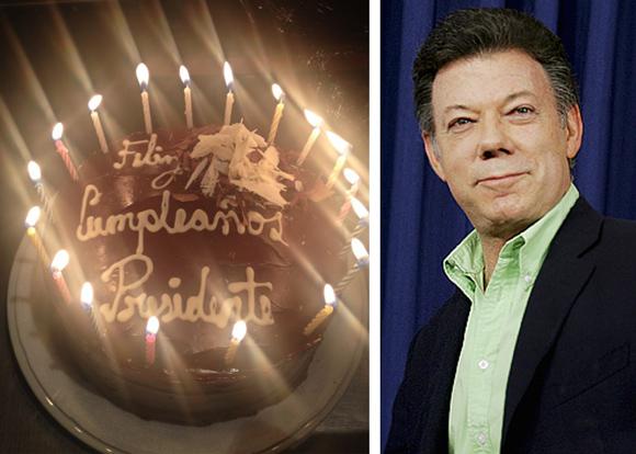 Con Quien Celebro Juan Manuel Santos Su Cumpleanos Las2orillas