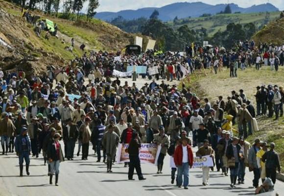 ¿Cumplirá el Gobierno los pactos con la Minga Agraria?
