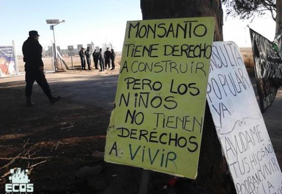 Repudio a Monsanto en las Malvinas Argentinas