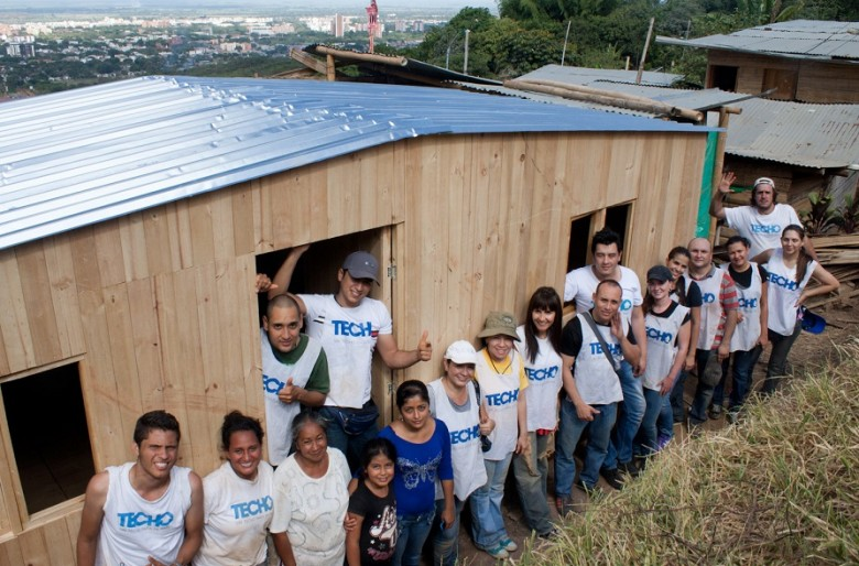 Gracias a los aportes de los caleños Techo construirá viviendas