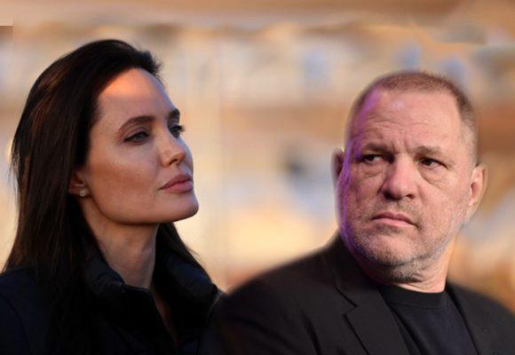Angelina Jolie decidida a mandar a la cárcel a Weinstein, el productor que la volvió estrella