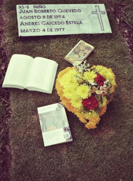 La tumba de Andrés Caicedo en Cali. Foto: Revista Coronica