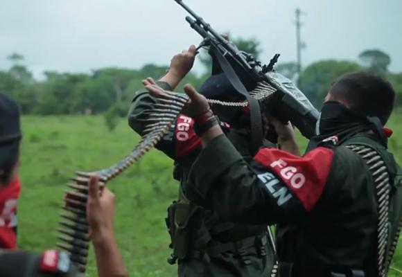 El poder militar del ELN en Arauca