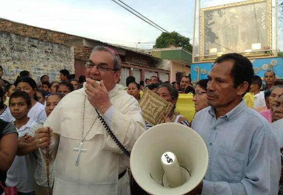La Peregrinación pasó por Mompox, un pueblo que olvidó el cólera