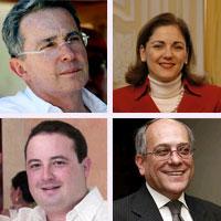 Los 10 de la lista de Uribe para el Senado