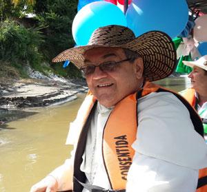 Arrancó la Peregrinación de purificación del río Magdalena
