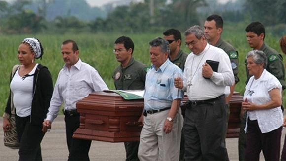 Monseñor Gómez Serna lidera la purificación del Río Magdalena