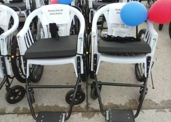 Las sillas de ruedas en Ciénaga son una verguenza