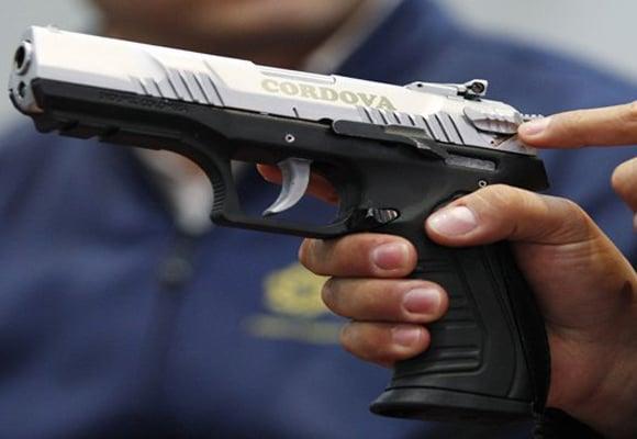 Córdova, la nueva pistola 9mm colombiana