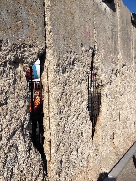 Trozo del Muro, tal como era