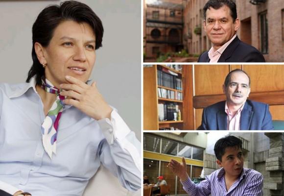 Nuevas amenazas contra León Valencia, Ariel Ávila, Gonzalo Guillén y ahora Claudia López