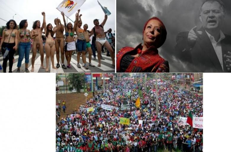 Estallan las movilizaciones populares y sociales en Colombia