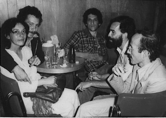 Yuyina, JM Roca, Gabriel Jaime Franco, Braulio Herrera y Dario Botero en Quiebracanto.