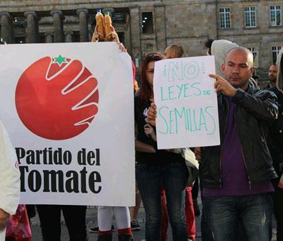 El Partido del Tomate quiere hacer política
