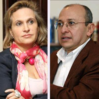 El caso de Fidupetrol también enfrentó a Sandra Morelli y Eduardo Montealegre