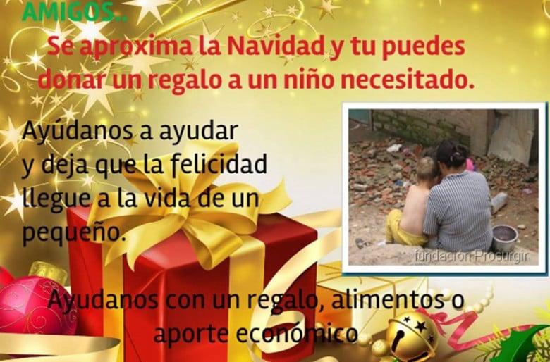 Dona un regalo esta navidad las2orillas - Regalos para pedir en navidad ...