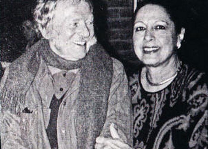 El amor de Sonia Osorio y Alejandro Obregón