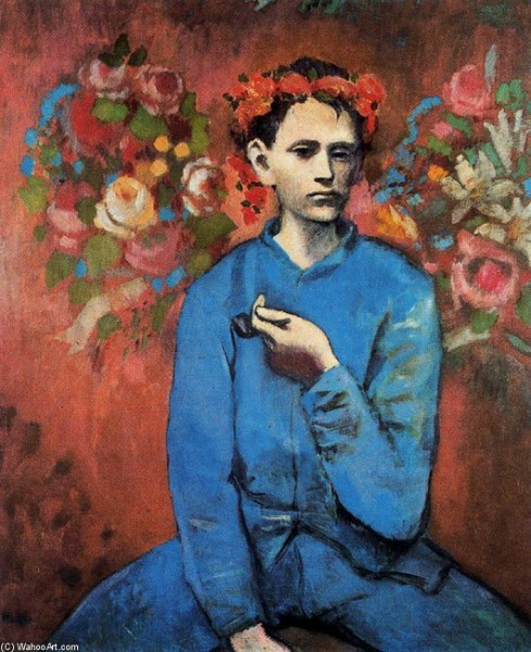 PABLO-PICASSO-BOY-WITH-PIPE
