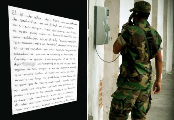 El soldado que fue violado por su superior tuvo que regresar al Ejército