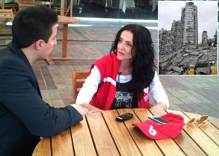 Claudia Restrepo, la mujer a la que le cayó encima el lío del Edificio Space