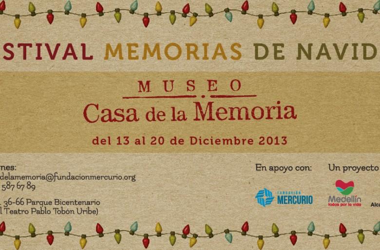 Festival memorias de navidad en el Museo casa de memoria