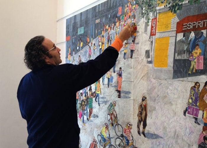 El artista que pasó de ser catalán a ser caleño