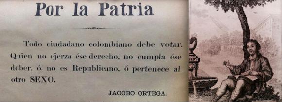 Hoja suelta electoral, impresa a comienzos del siglo XX.