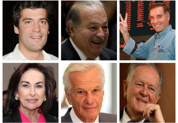 Dos colombianos hacen parte de los más ricos de América Latina