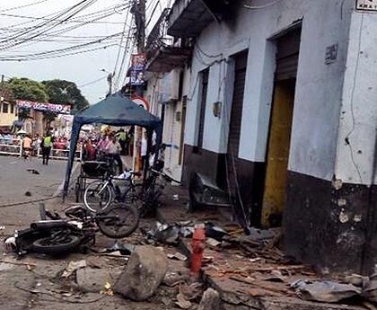 La población civil la más afectada con el atentado terrorista en Pradera (Valle)