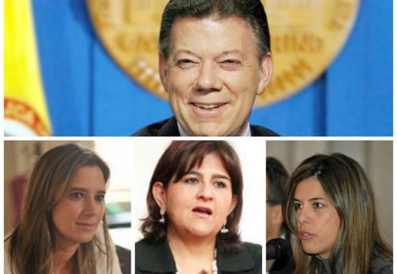 Las tres mujeres que mandan a Santos