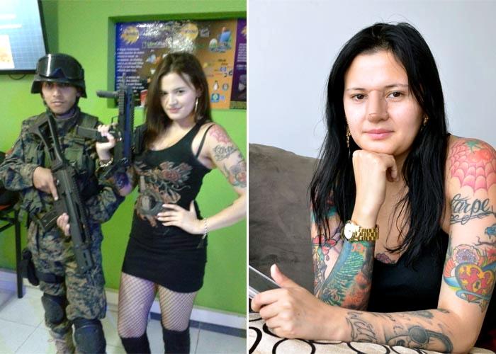 Habla la mujer que aparece en las fotos de 'Andrómeda', la base de hackers contratados por el Ejército