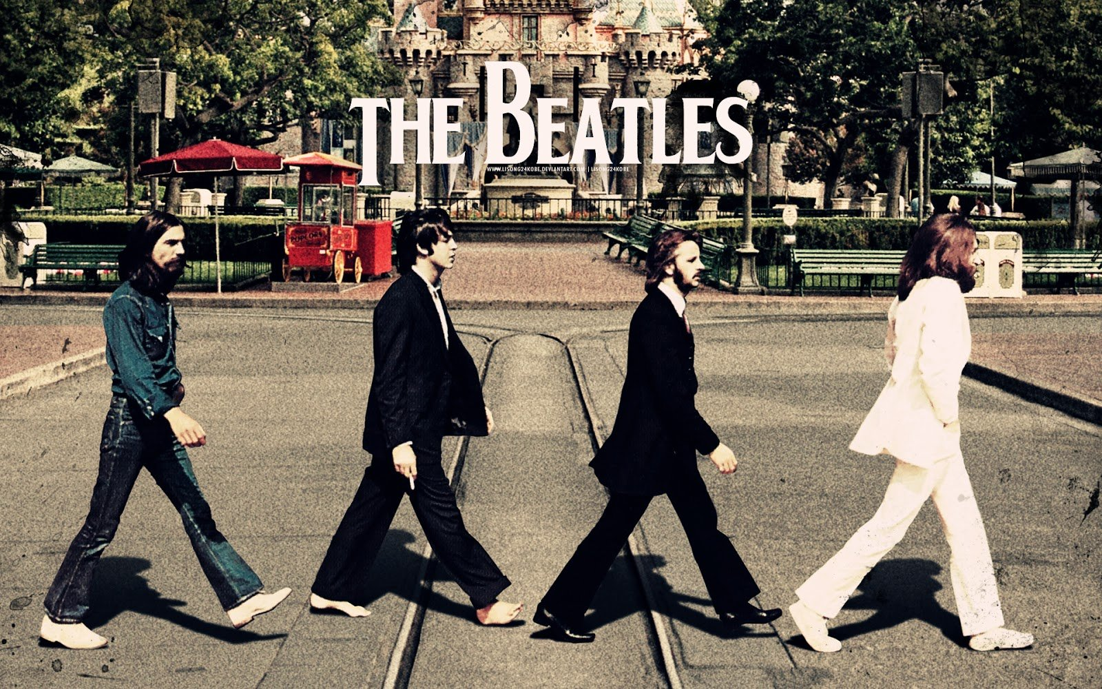 La vida sin musica seria un error : The Beatles