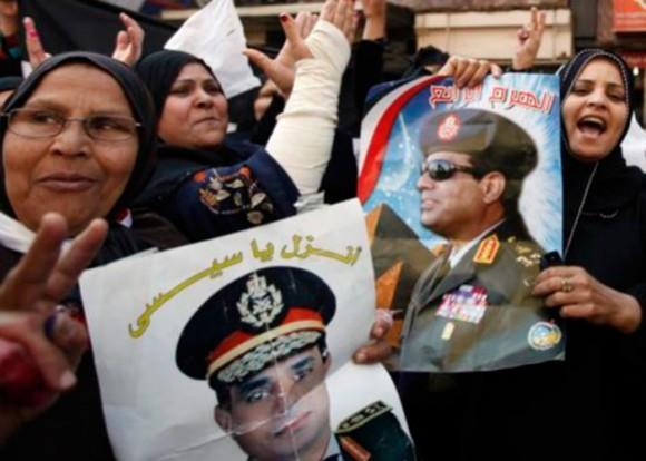 General Abdel Fattah el-Sissi en busca de ganar las elecciones - Foto: Elcomercio.Pe/Reuters