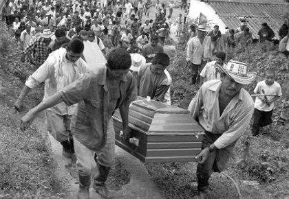 Masacre en San José de Apartadó Foto: semana.com