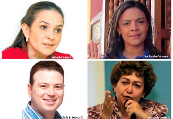 La lista roja de los candidatos con posibles nexos con fuerzas ilegales