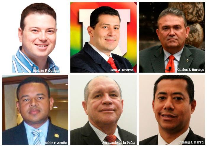 Los 20 candidatos más cuestionados del país